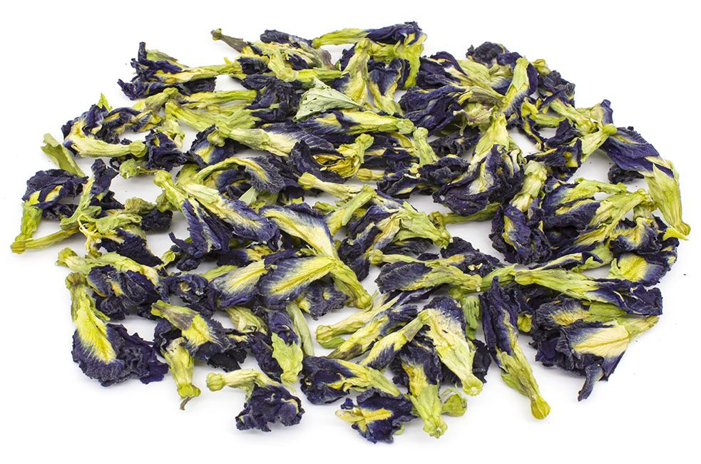 чай из тайланда синие цветочки