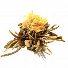 Чай связанный Корзина Будды с ароматом апельсина и персика в инд. упаковке