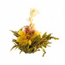 Чай связанный Персик бессмертия с ароматом жасмина в инд. упак.
