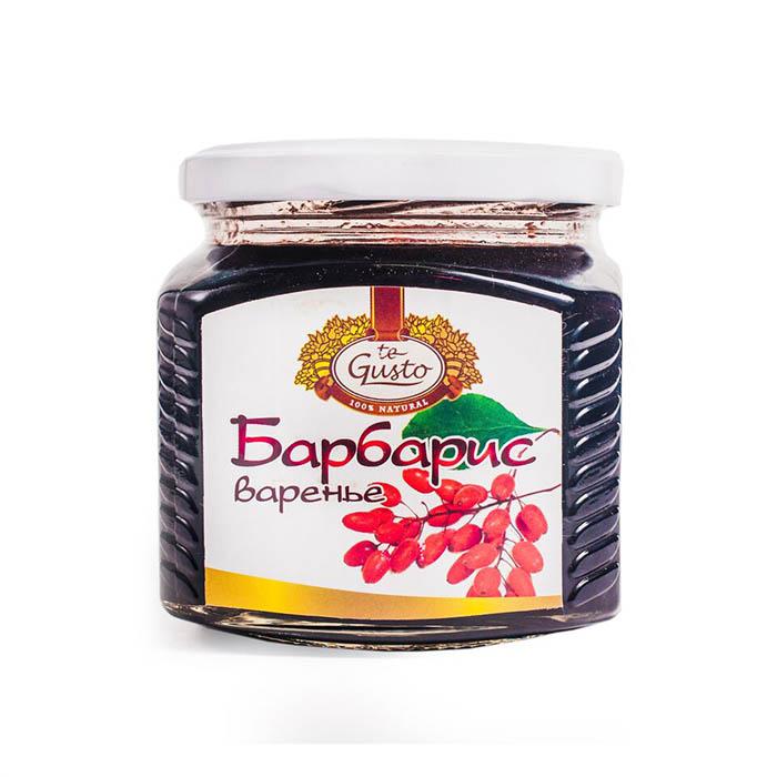 Варенье из барбариса Te-Gusto, 470 г te gusto миндаль и инжир в меду 300 г