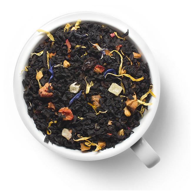Черный ароматизированный чай Мулен руж