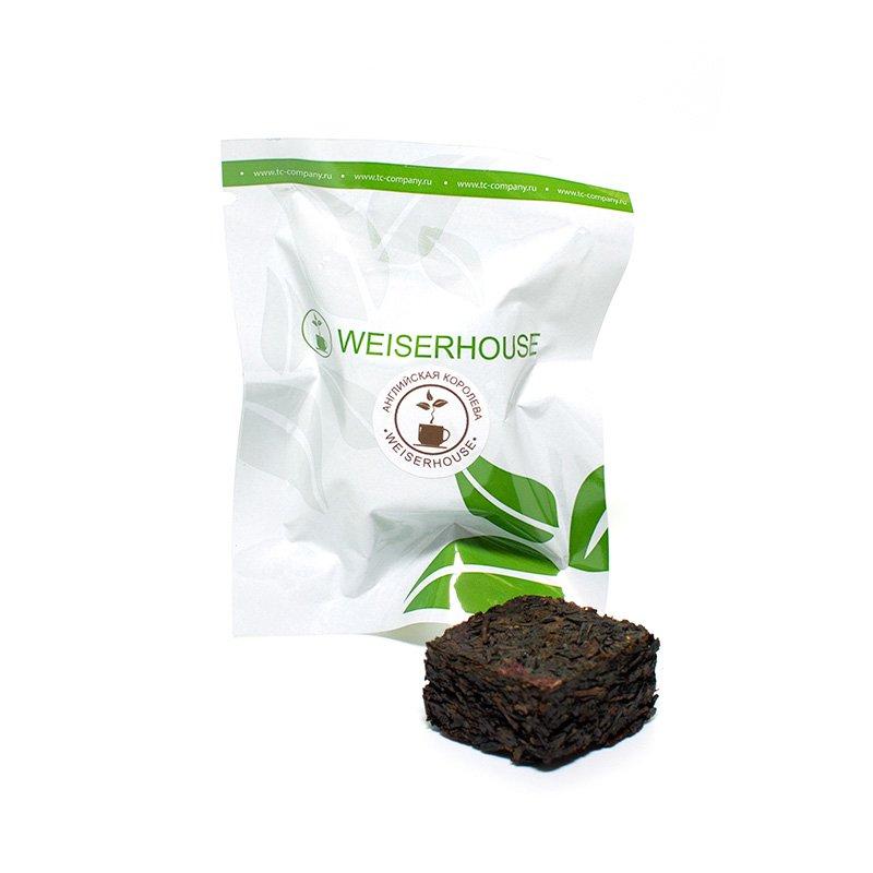 Чай черный Английская королева, прессованный в кубиках (5-7 гр.) в инд. упак.