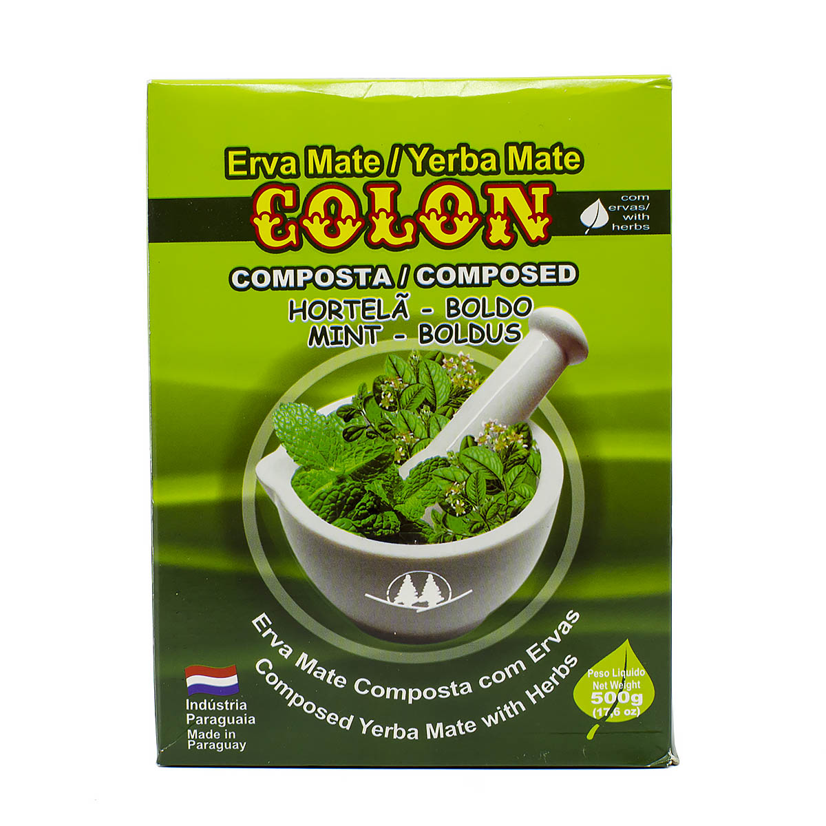 Мате Colon Menta - Boldo, 500 г мате aguamate organic 500 г