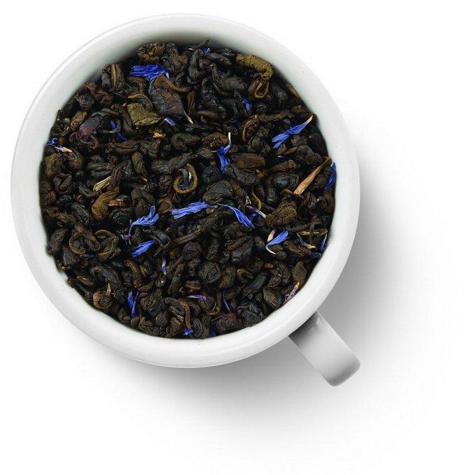 Зеленый ароматизированный чай Черника со сливками