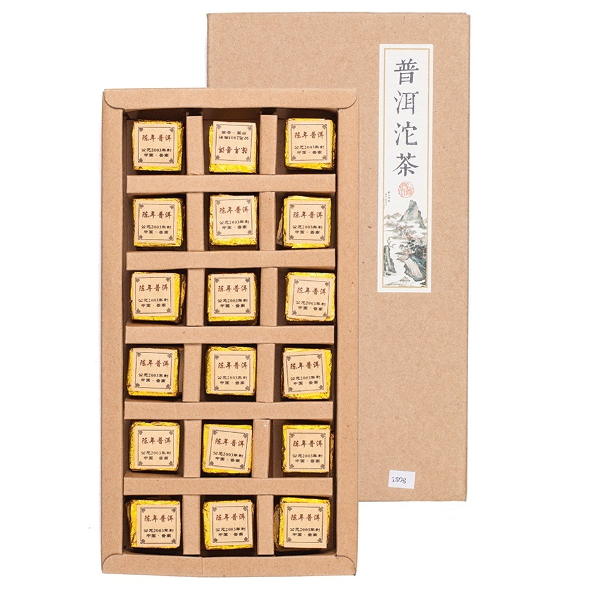 Чай Шу Пуэр (То Ча) 2003 г., 180 г (36 шт х 5 г)