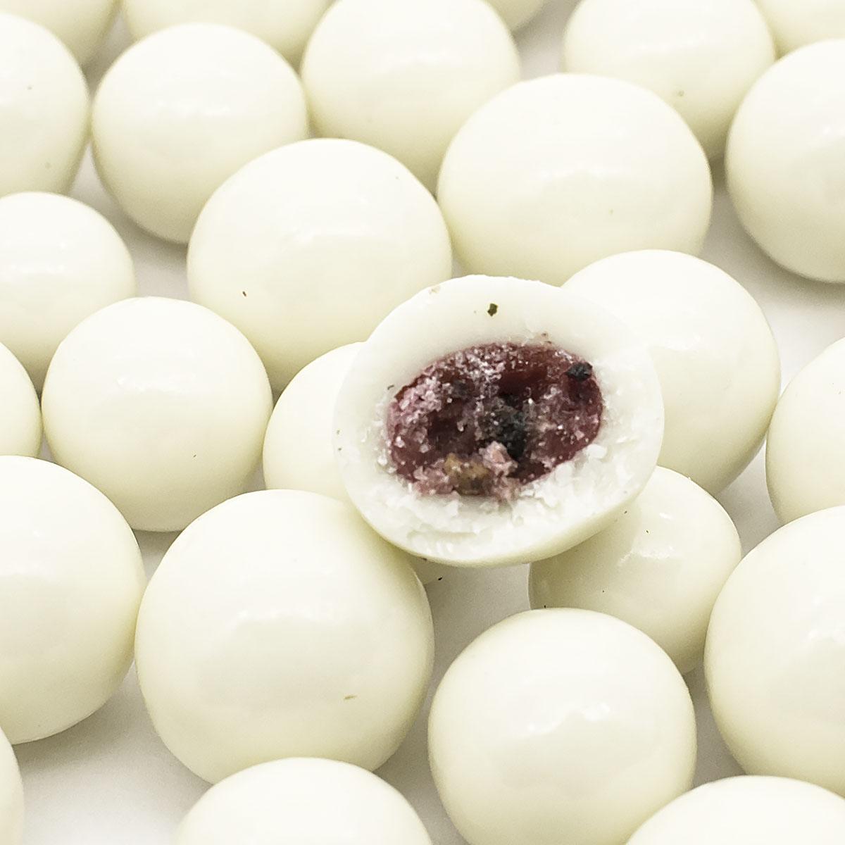 Купить со скидкой Малина в белом шоколаде, 200 г