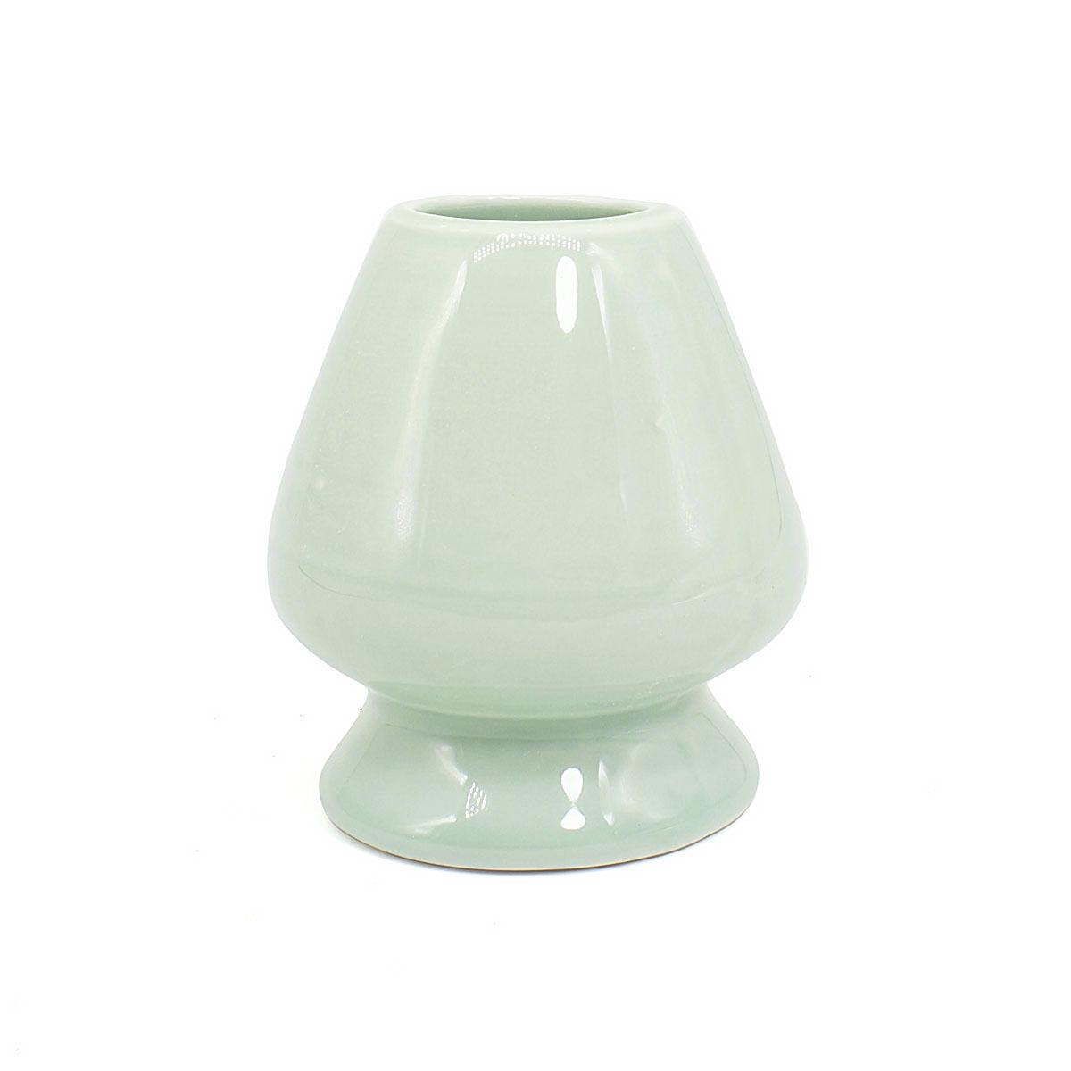 Подставка под венчик для матча мятная, керамическая чаша для матча керамическая сапфировая 500 мл