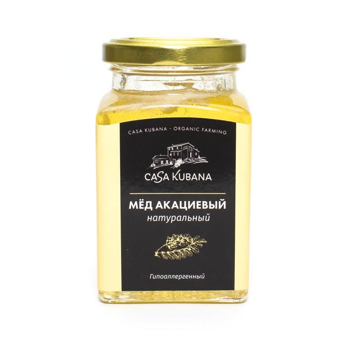 Мёд акациевый натуральный Casa Kubana, 310 г