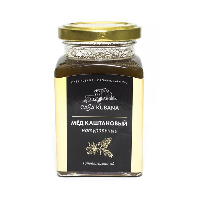 Мёд каштановый натуральный Casa Kubana, 310 г