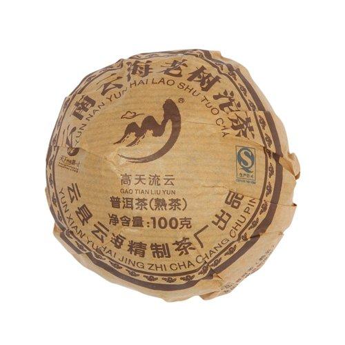 Пуэр То Ча, фабрика Юнь Хай, 2014 г., чаша, 100 гр.