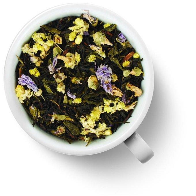 Зеленый ароматизированный чай Князь Багратион