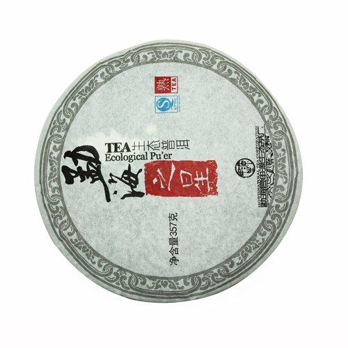 Пуэр Органик, фабрика Ю Шень Юань, 2011 г., блин, 357 г