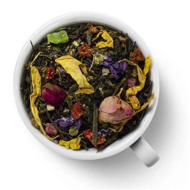 """Зеленый ароматизированный чай Знаки зодиака """"Близнецы"""""""