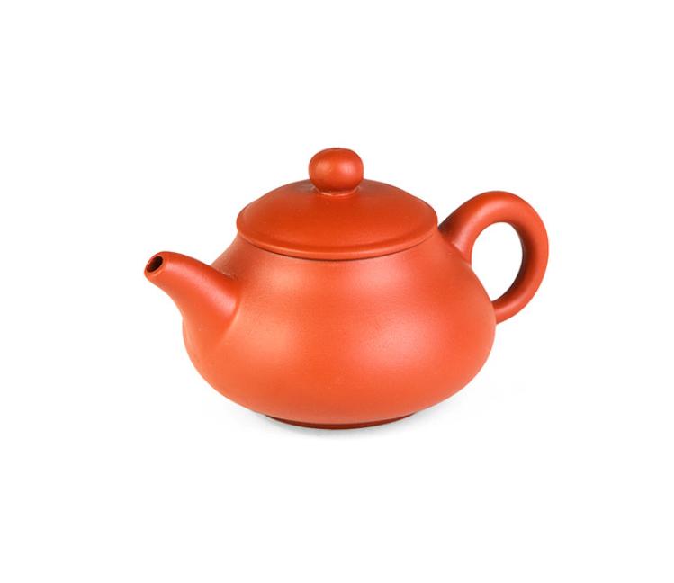 """Чайник из исинской глины """"Рыжая тыковка"""", 100 мл"""