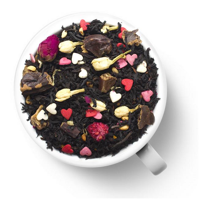 Черный чай Аромат любви