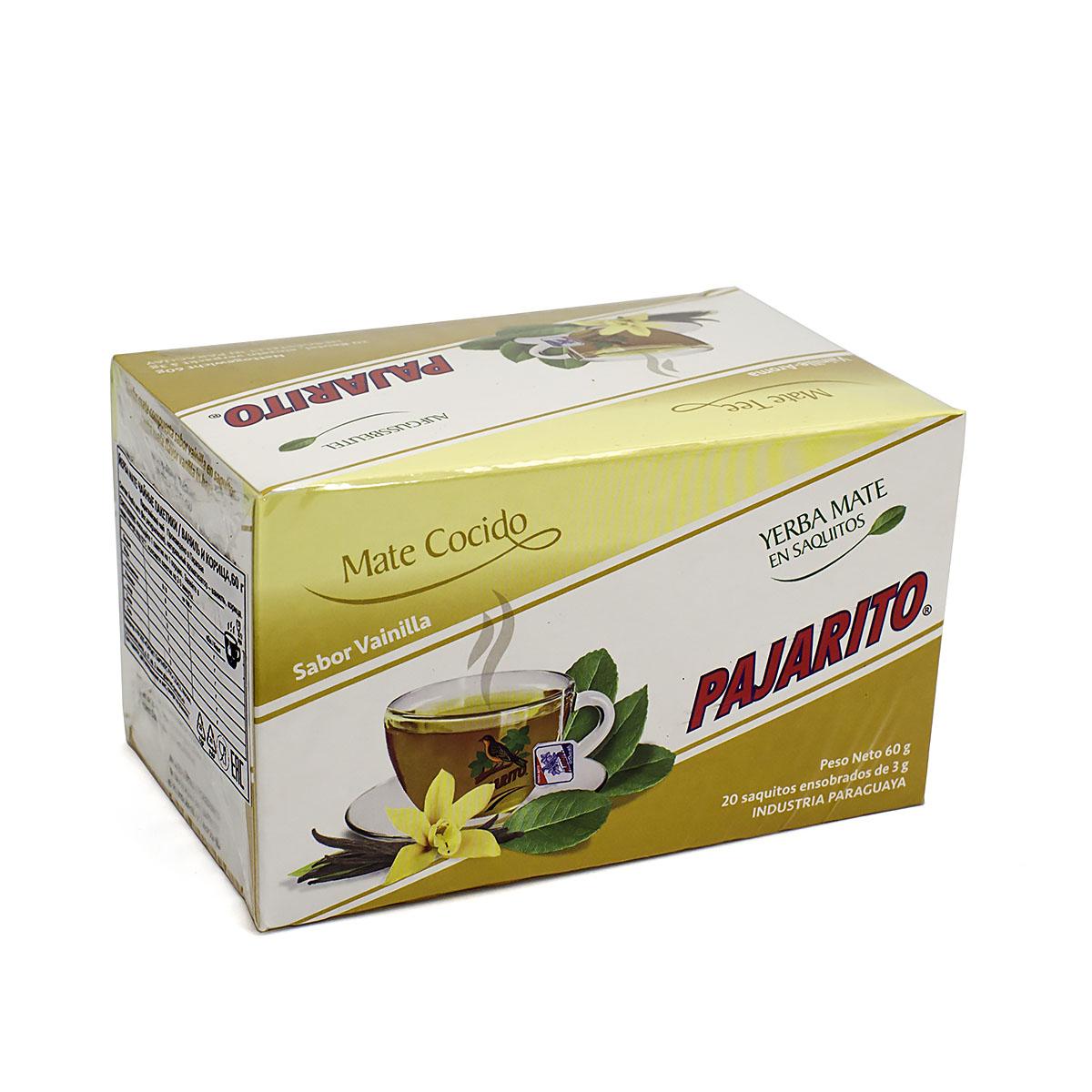 Мате Pajarito Tradicional с ванилью в фильтр-пакетах, 25 пак х 2 г (уцененный товар) книжки в кармашке змея в шапочке комплект из 4 книжек уцененный товар 2