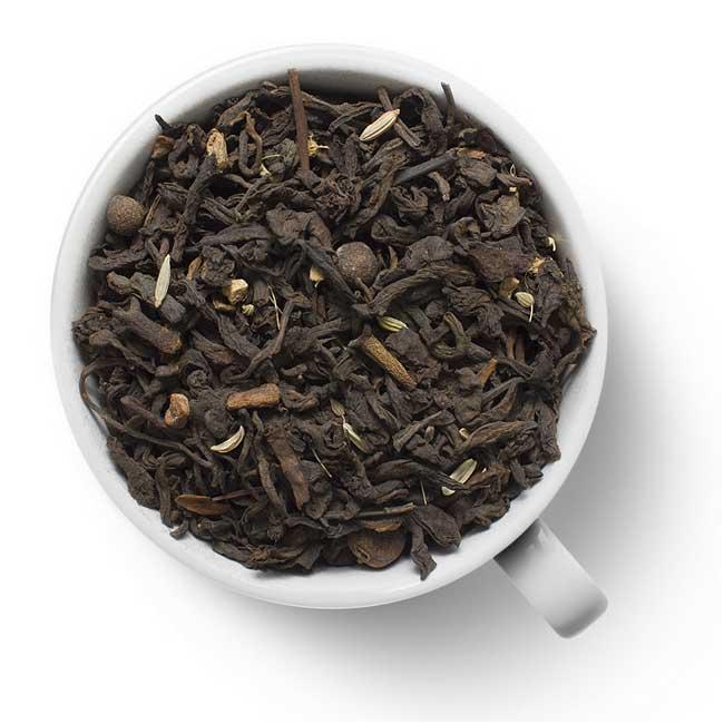 Чай черный Масала на пуэре