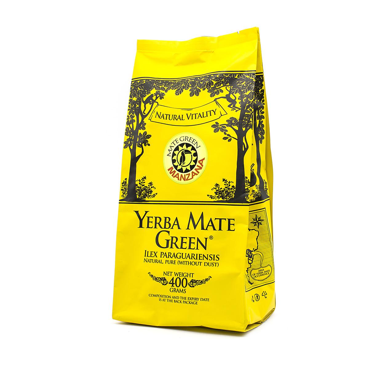 Мате Green Manzana (Яблоко), 400 г мате el pajaro silueta limon bio лимон 400 г