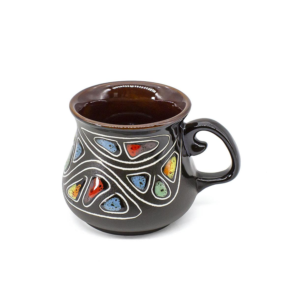 "Чашка глиняная ""Монпансье"", 100 мл"