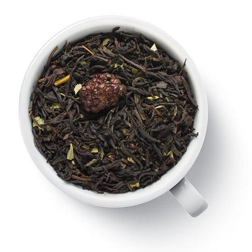 Черный ароматизированный чай Ежевика, премиум