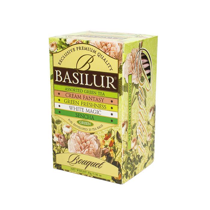 Зеленый чай Basilur Букет