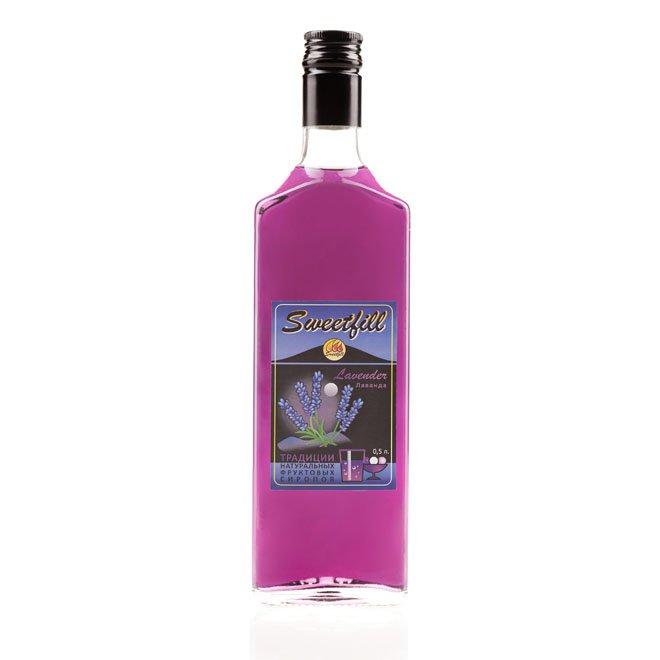 Сироп SweetFill Лаванда, 0,5 л
