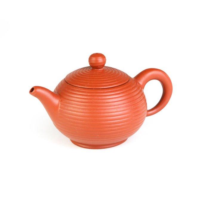 Чайник из исинской глины Полосатый фонарь, 120 мл
