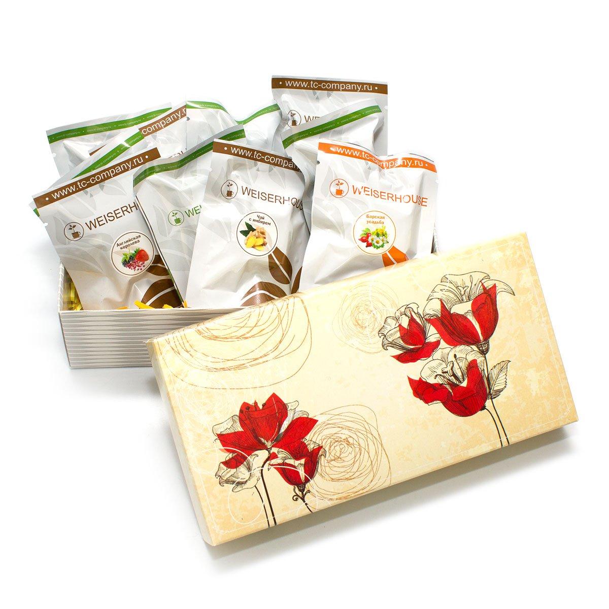 """Подарочный набор чая """"Весенний"""" от 101 Чай"""