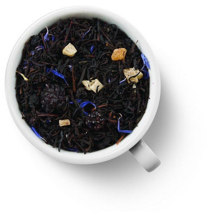 Черный ароматизированный чай Черничный пирог