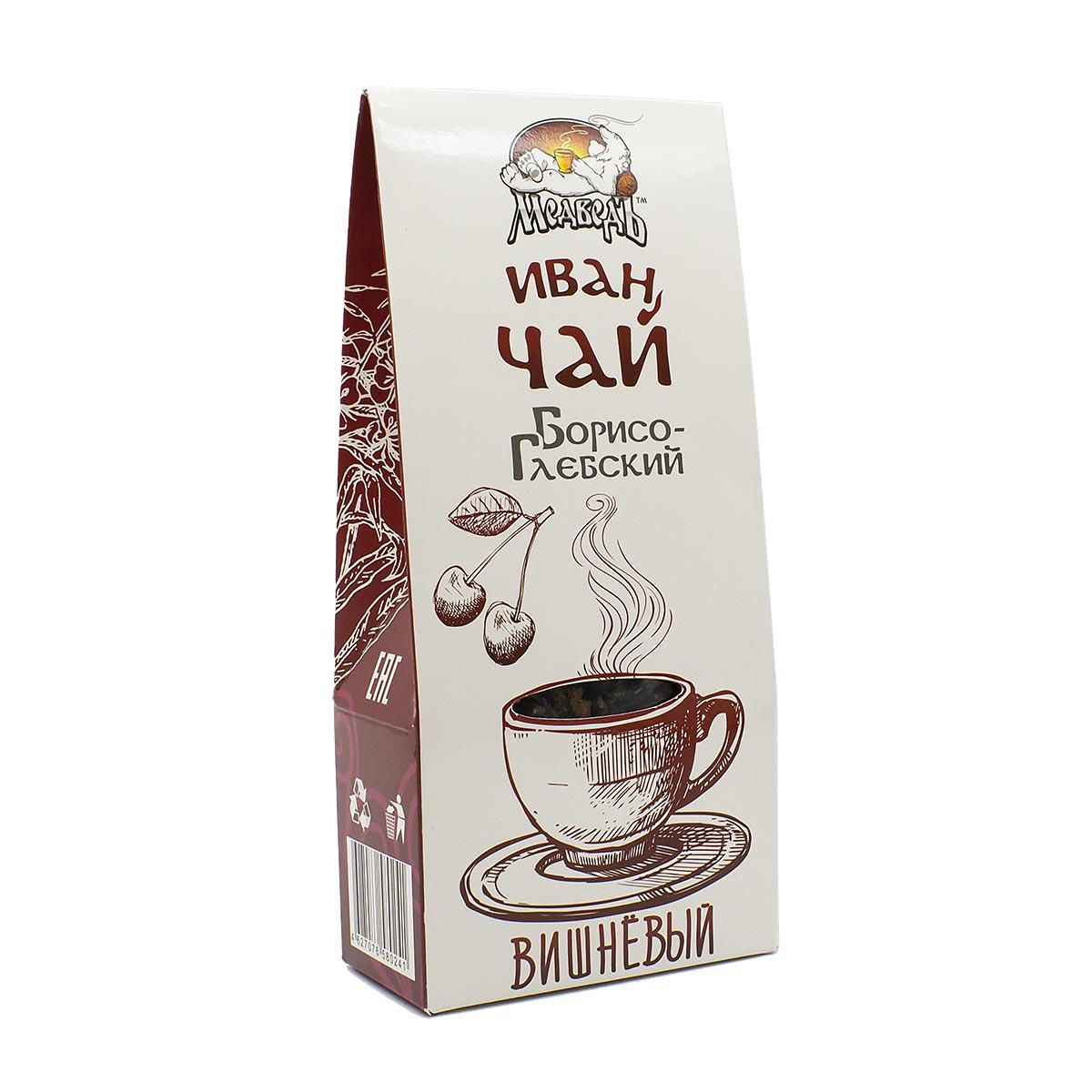 цены Иван-чай Борисоглебский с листьями вишни, 50 г