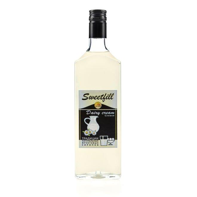 Сироп SweetFill Сливки, 0,5 л vedrenne карамель сироп 0 7 л
