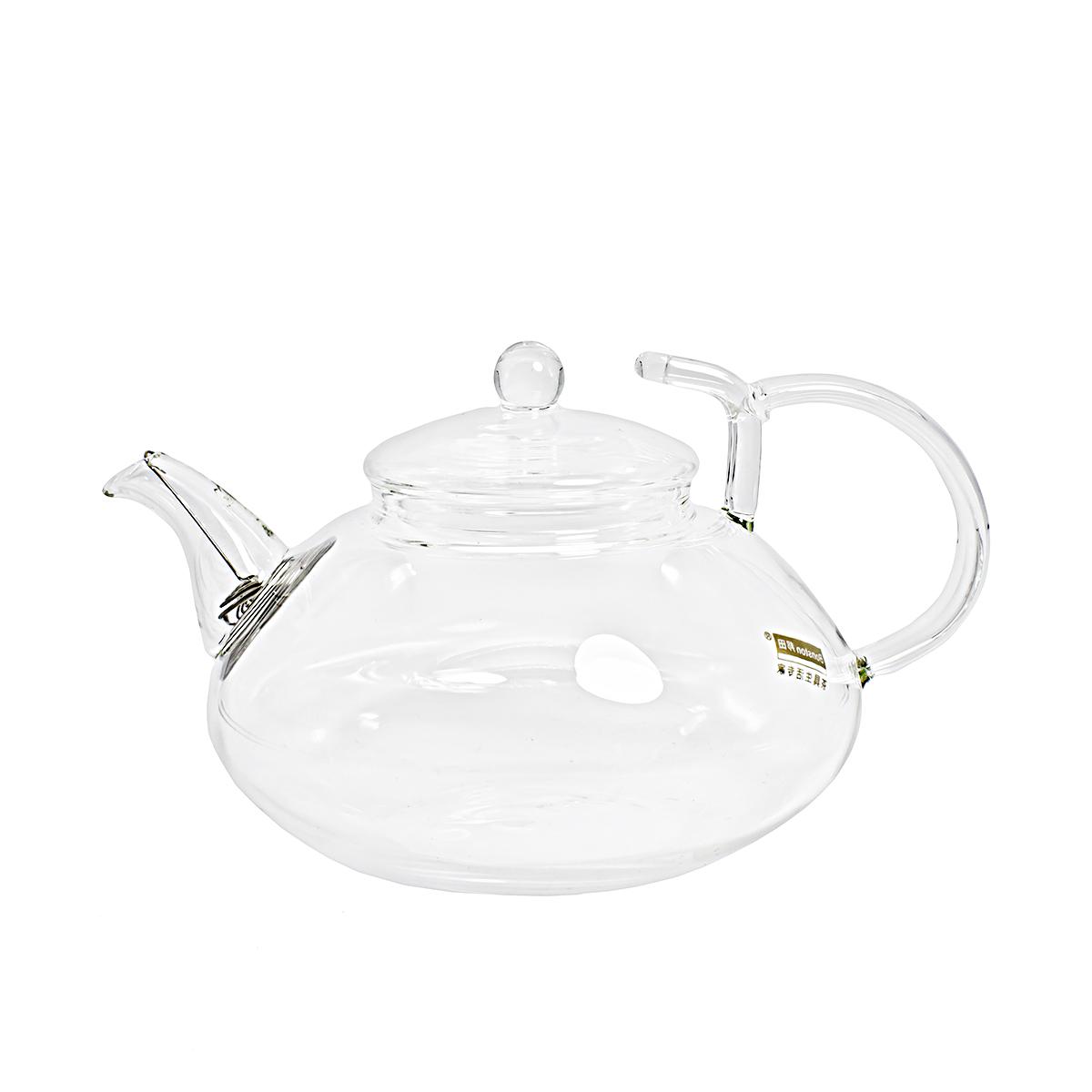 Стеклянный заварочный чайник Гладиолус, 600 мл цена