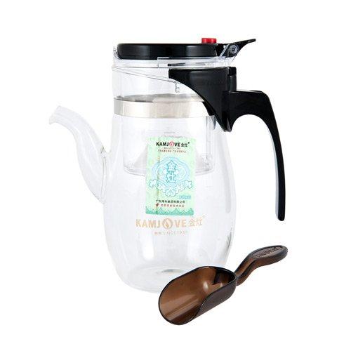 Чайник заварочный Гунфу Kamjove TP-787, 600 мл стеклянный заварочный чайник смородина малая без заварочной колбы 600 мл