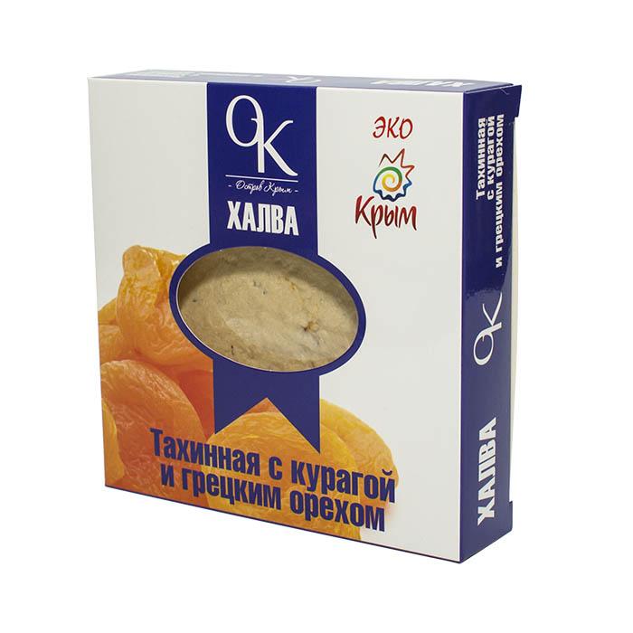Халва тахинная с курагой и грецким орехом, 300 г от 101 Чай