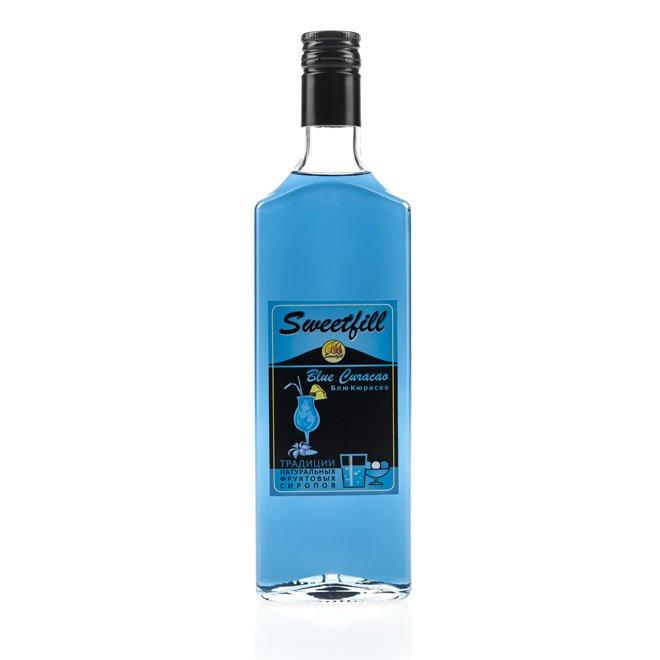 Сироп SweetFill Блю Кюрасао, 0,5 л