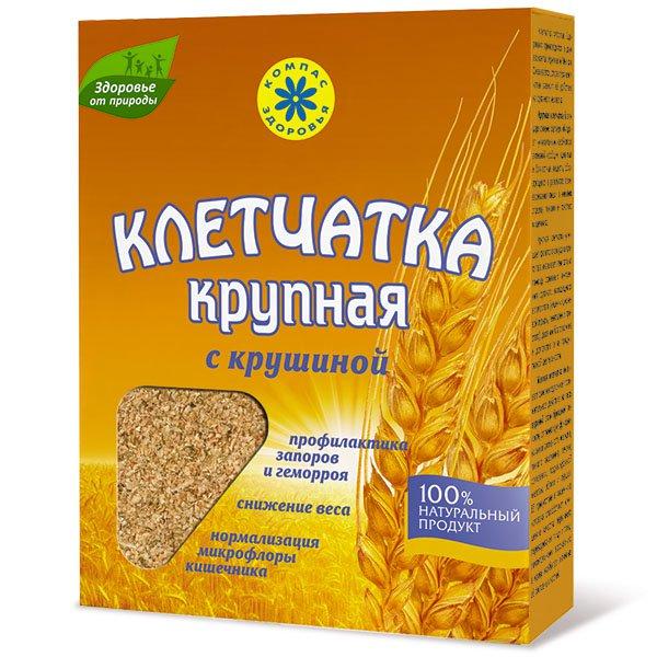 Клетчатка пшеничная крупная с крушиной, 150 г от 101 Чай
