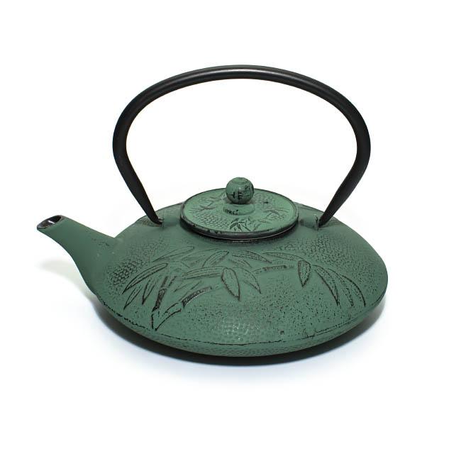 """Чугунный чайник """"Бамбук"""", 800 мл от 101 Чай"""