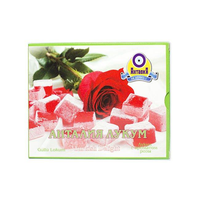 Лукум с ароматом розы, 125 г