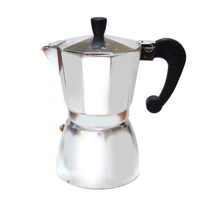 Гейзерная кофеварка алюминиевая, 450 мл