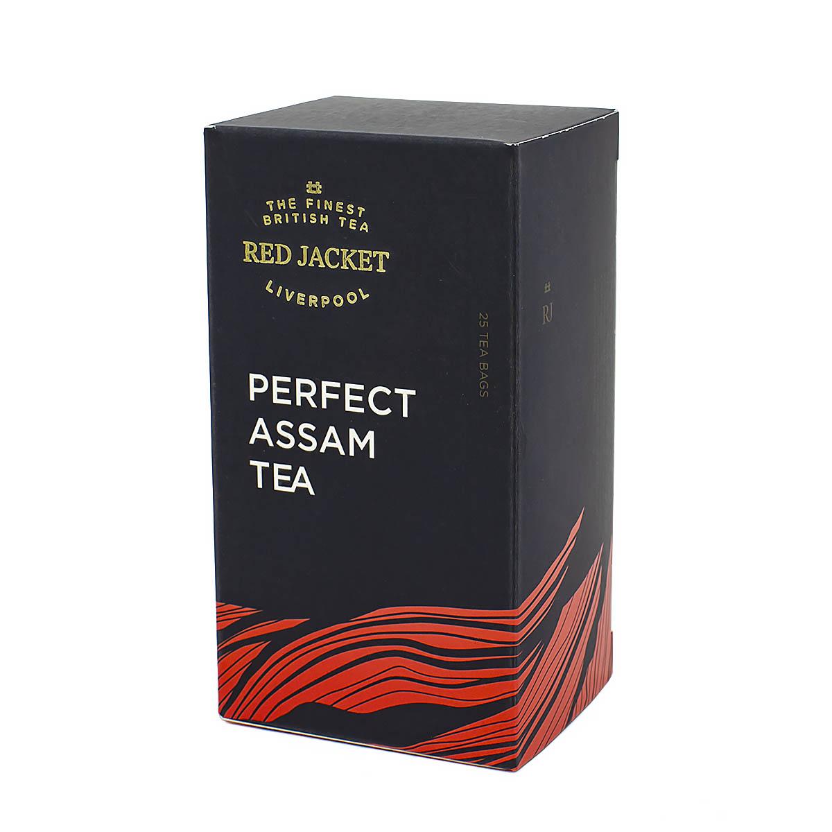 Чёрный чай Ассам Ред Джекет пакетированный, 25 шт х 2 г