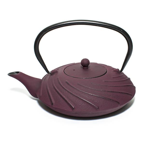 """Купить со скидкой Чугунный чайник """"Лазурное облако"""", 1100 мл (уцененный товар)"""