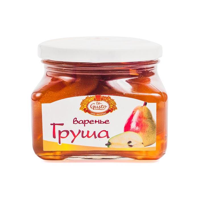 Варенье из груши Te-Gusto, 470 г te gusto миндаль и инжир в меду 300 г