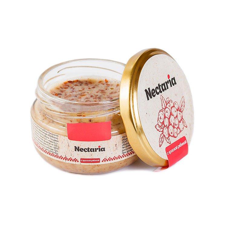 Крем-мёд Nectaria с красной рябиной, 130 г