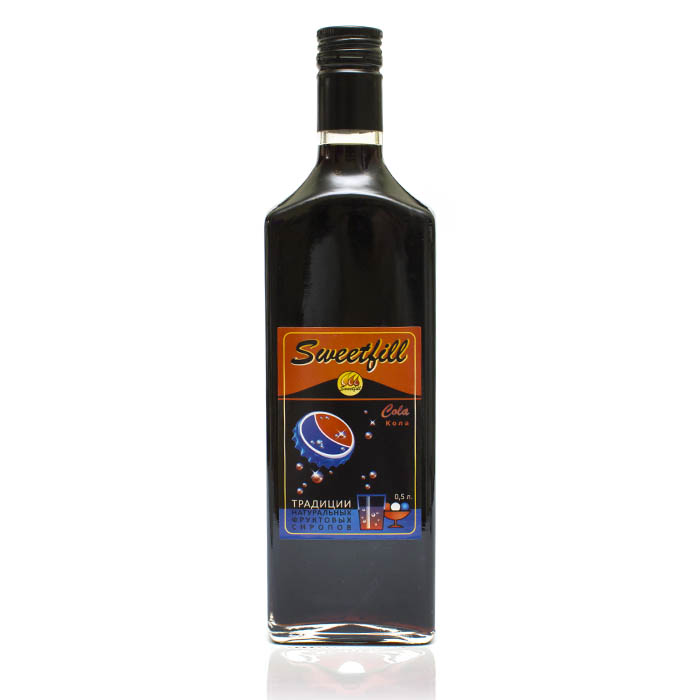 Сироп SweetFill Кола, 0,5 л