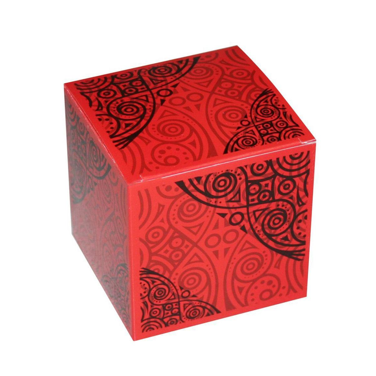 "Коробка подарочная ""Красный куб"", 8х8х8 см"