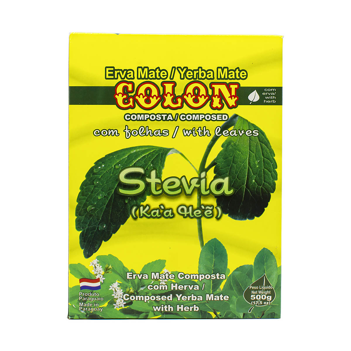 Мате Colon Stevia, 500 г мате colon menta boldo 500 г
