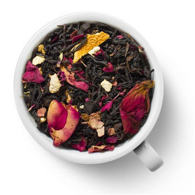 Черный ароматизированный чай Восточное солнце
