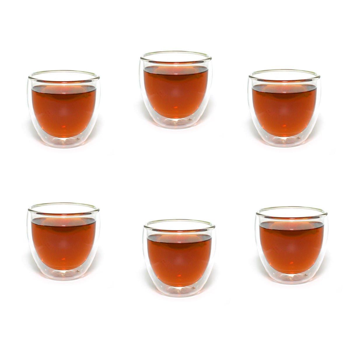 Набор бокалов с двойными стенками (6 бокалов по 250 мл)