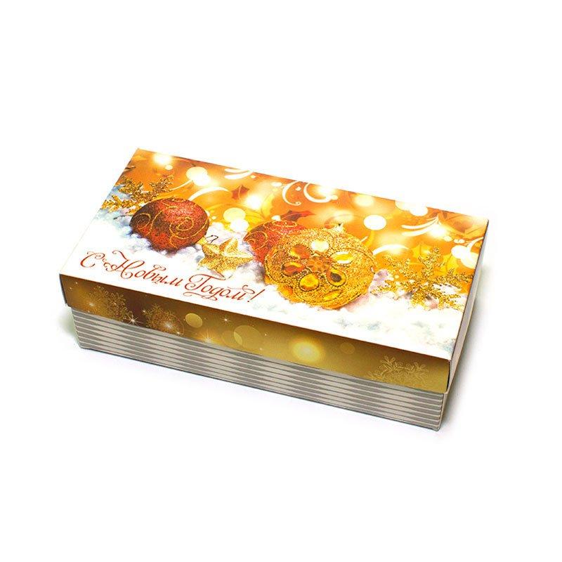 "Коробка подарочная ""С Новым Годом!"" (вар.7), 20х10х5,5 см"