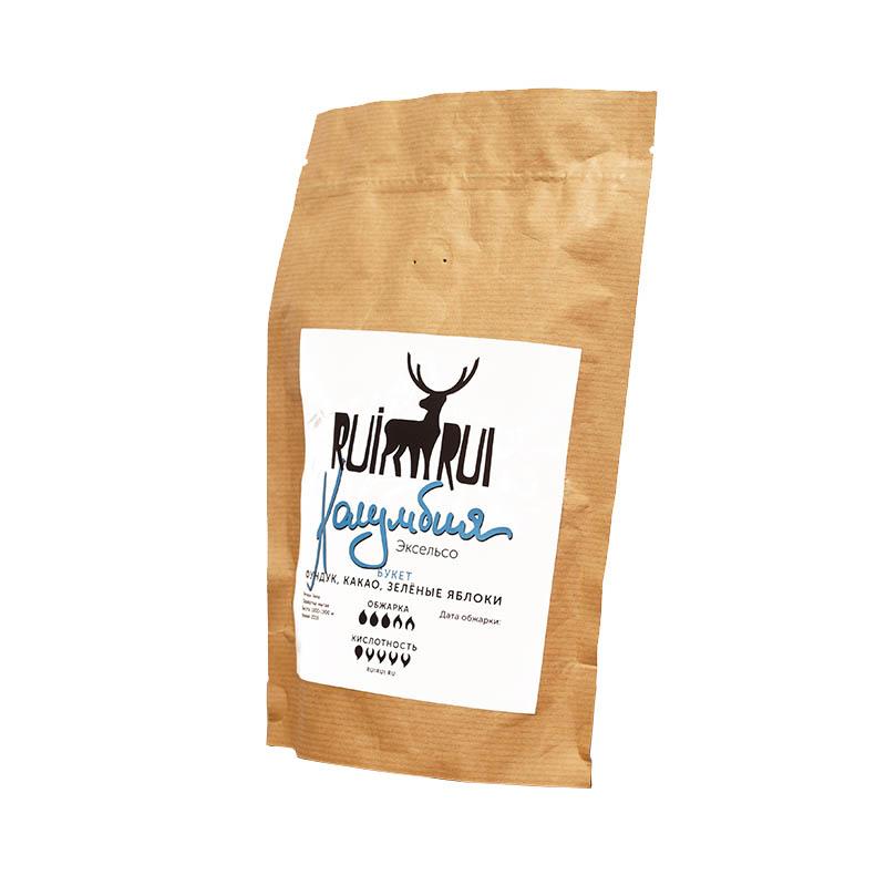Кофе в зернах Колумбия Эксельсо, уп. 250 г